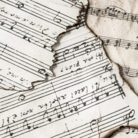 music notes, music, melody
